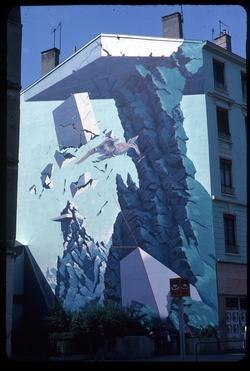 Mur peint de Gérard Gasquet