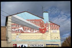 Mur peint rue Roquette à Vaise