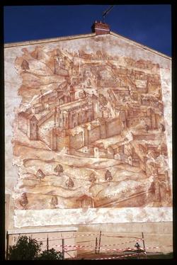 Mur peint Saint Irénée