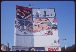 Mur peint par Ever Meulen à Vaise