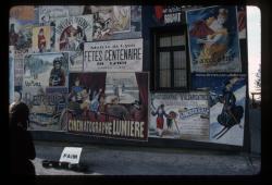 Mur peint : affiches