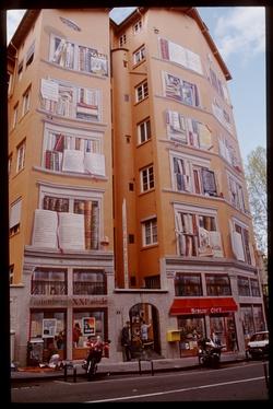 Mur peint : rue de la Platière