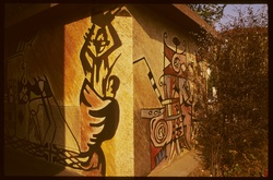 Mur peint : la Côte d' Ivoire