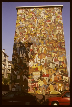 Mur peint : La Russie