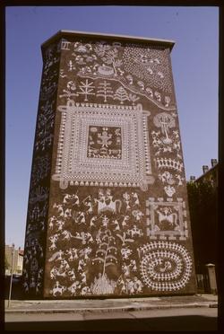 Mur peint : l' Inde