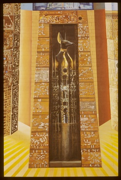 Mur peint : l' Egypte