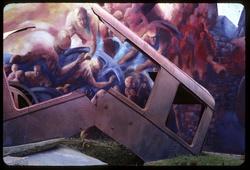 """Mur peint """"La Renaissance"""" à Oullins (détail)"""