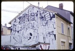 Mur peint Oullins