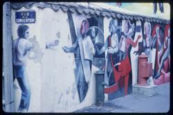 Peinture murale Oullins