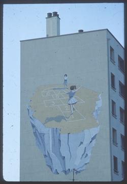 Mur peint Cours de la République