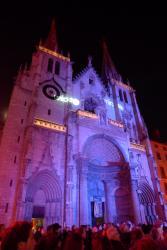 L'église Saint-Nizier, Fête des Lumières 2011