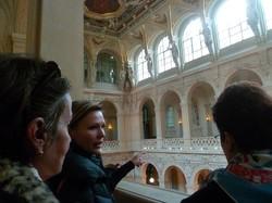 Décoration intérieure du Palais du Commerce de Lyon.