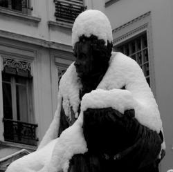 Lui, et son blanc manteau de neige