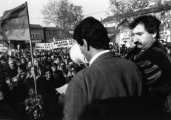 [Manifestation des Arméniens à Meyzieu]