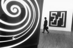 """[Musée d'art contemporain de Lyon. Exposition """"Collection, travaux en cours""""]"""