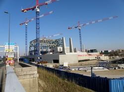 Le musée des Confluences en construction