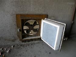 Marché de gros : système d'aération des chambres froides