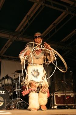 [Fête de la transhumance de Die : rencontre avec les Indiens Navajo]