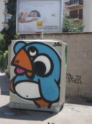 L'oiseau de Knar, rue Guilloud
