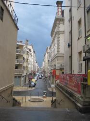 Angle de la rue Pasteur et de la rue Basse-Combalot.