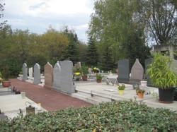 [Parc-cimetière du Grand-Lyon à Bron : les tombes musulmanes]