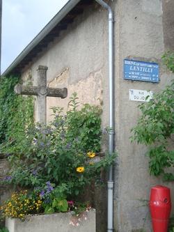 Rue du Joly, à Lentilly