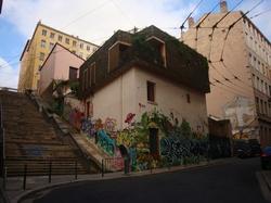 Escaliers de la rue Pouteau