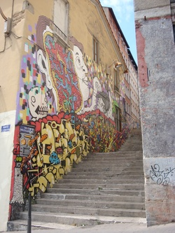 Escalier de la rue des Tables-Claudiennes
