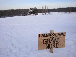 Lacroix-Laval au Grand Nord