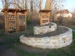 Urban bees au parc de la Feyssine