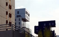 Vue d'immeubles