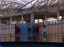Vélo sur le pont