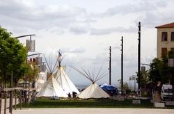 Tentes indiennes près du Gros Caillou (2)