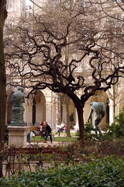 Amoureux dans le Jardin Saint-Pierre