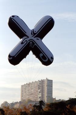 Ballon de la biennale de Lyon