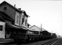 [La gare de Villeurbanne]