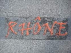 Calligraphie urbaine : Rhône