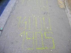 Calligraphie urbaine : Dates