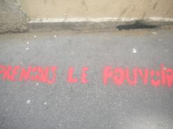Calligraphie urbaine : Prenons le pouvoir