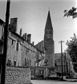 Crémieu (Isère) : église des Augustins