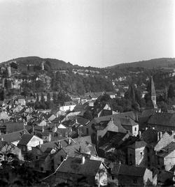 Crémieu (Isère) : panorama