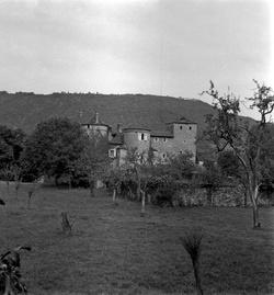 Crémieu (Isère) : maison forte Mallin Villemoirieu