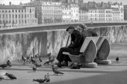 Lyon : quai de Bondy