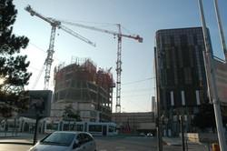 La Tour Oxygène en construction