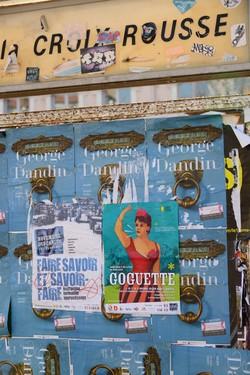 Quartier de la Croix-Rousse (Lyon 4e) : affiche-programme pour Novembre des Canuts