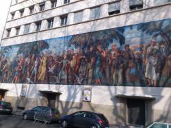 la Mosaïque du palais de la Mutualité