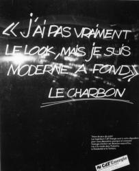 [Publicité des Charbonnages de France (CDF Energie)]