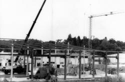Brindas : construction d'un batiment
