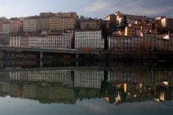[Vue sur le Rhône]