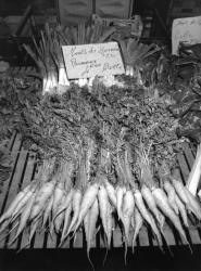 [Etal de légumes au marché Saint-Antoine]